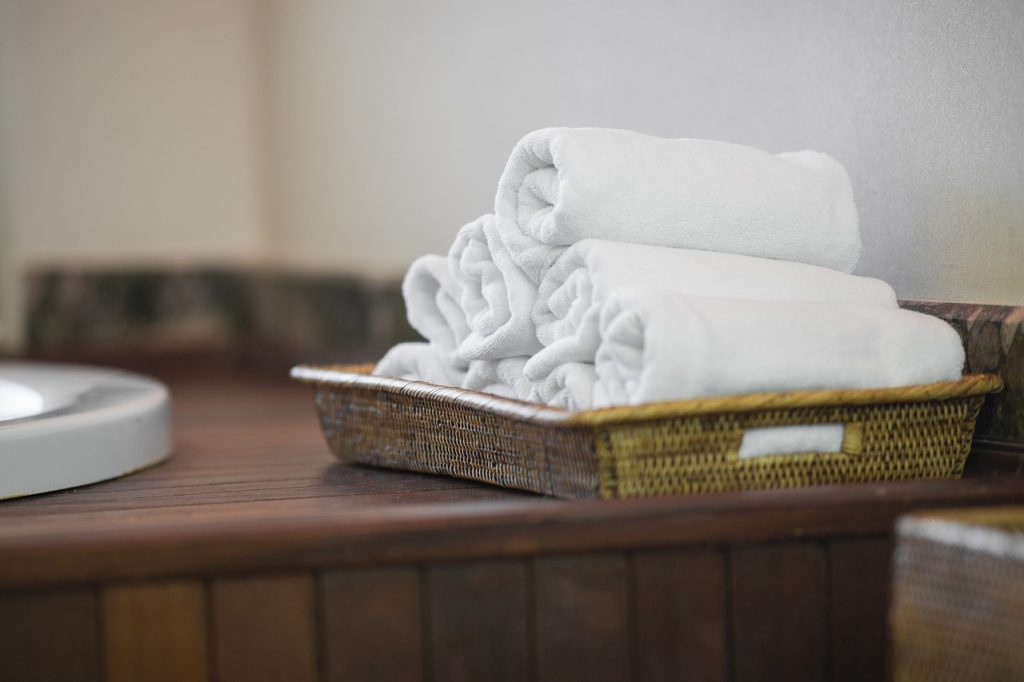 Towel White Cleaning Hygiene